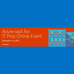 Azure IaaS Online Event