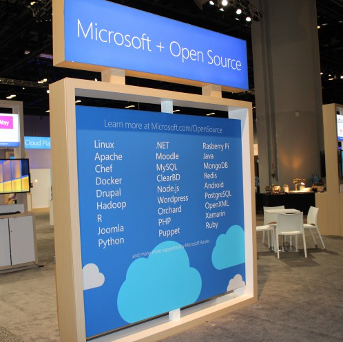 WPC Openness booth